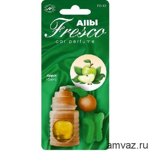 """Ароматизатор подвесной бочонок """"Alibi Fresco"""" Яблоко"""