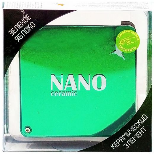 "Ароматизатор на панель ""Nano"" Зеленое яблоко"