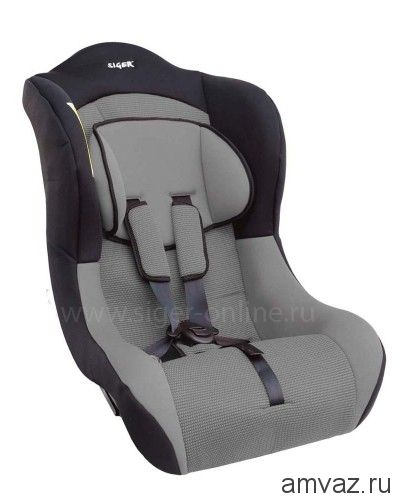 """Детское автомобильное кресло SIGER ART """"Тотем"""" алфавит, 0-4 лет, 0-18 кг, группа 0+/1"""