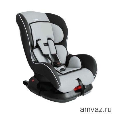 """Детское автомобильное кресло SIGER """"Наутилус ISOFIX"""" серый, 0-4 лет, 0-18 кг, группа 0+/1"""