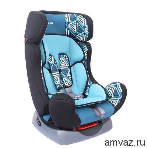 """Детское автомобильное кресло SIGER ART """"Диона"""" геометрия, 0-7 лет, 0-25 кг, группа 0+/1/2"""