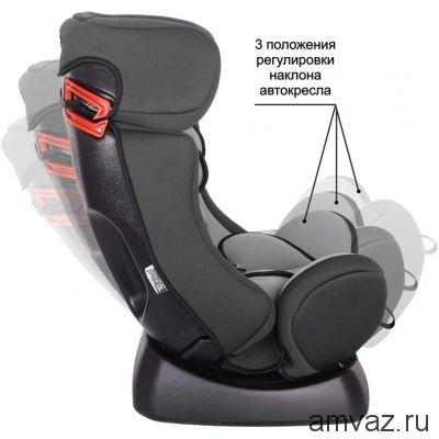 """Детское автомобильное кресло SIGER ART """"Диона"""" алфавит, 0-7 лет, 0-25 кг, группа 0+/1/2"""