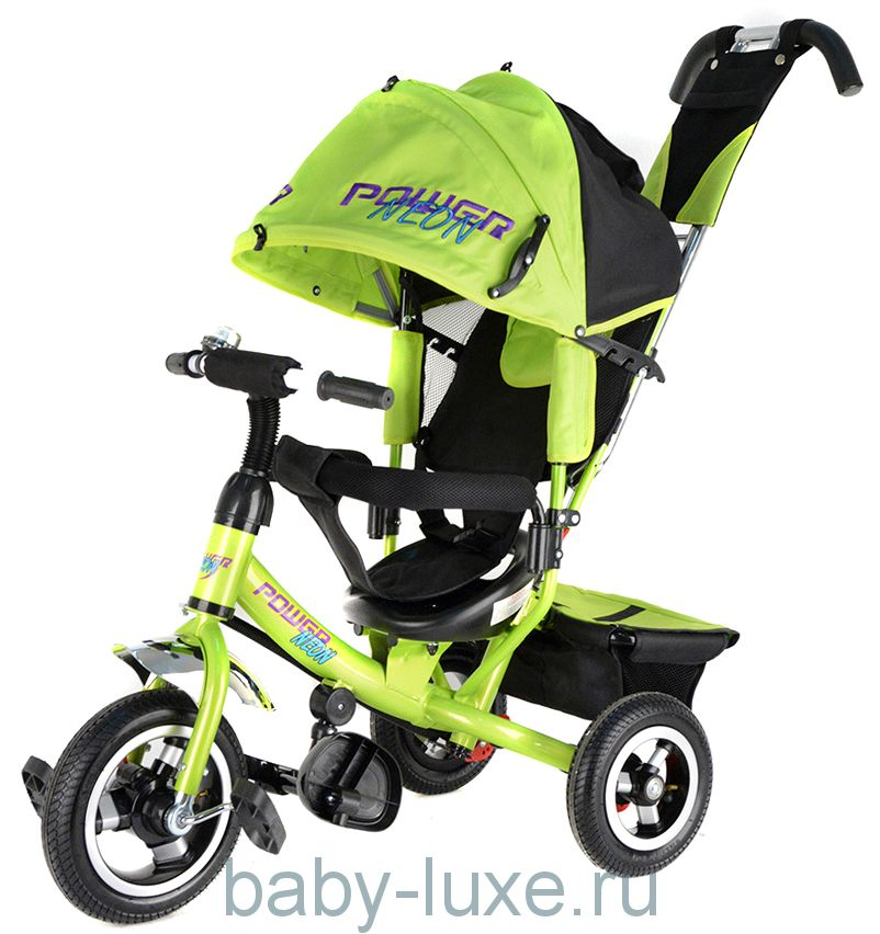 Велосипед 3-х колесный Trike Power Neon