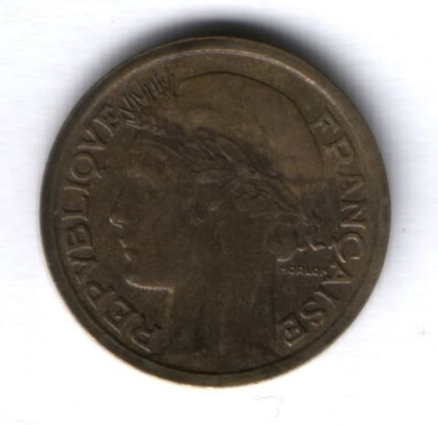 1 франк 1940 г. Франция