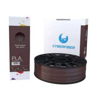 PLA пластик CyberFiber, 1,75мм, коричневый, 750гр