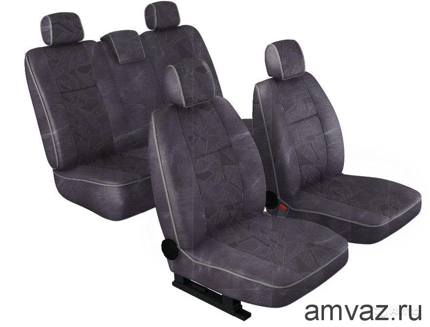 Чехлы салона Сlassic Chevrolet Lanos Флок