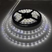 Белая светодиодная лента в силиконе 60 LED на метр (3528)