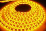 Лента светодиодная 3528Y желтая в силиконе 60LED/m