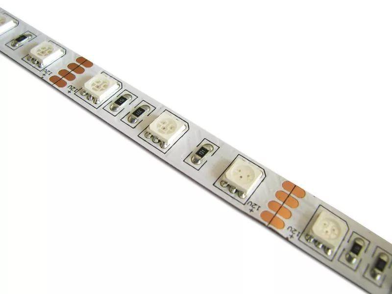 Светодиодная лента на светодиодах SMD5050 60LED/m, открытая