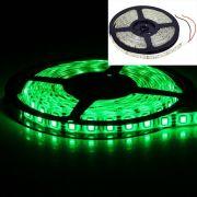 Светодиодная лента на светодиодах SMD5050G зелёная  60LED/m, в силиконе
