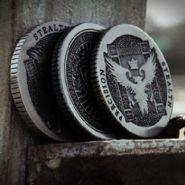 Монета Silver Artifact Coin (US Dollar Size)