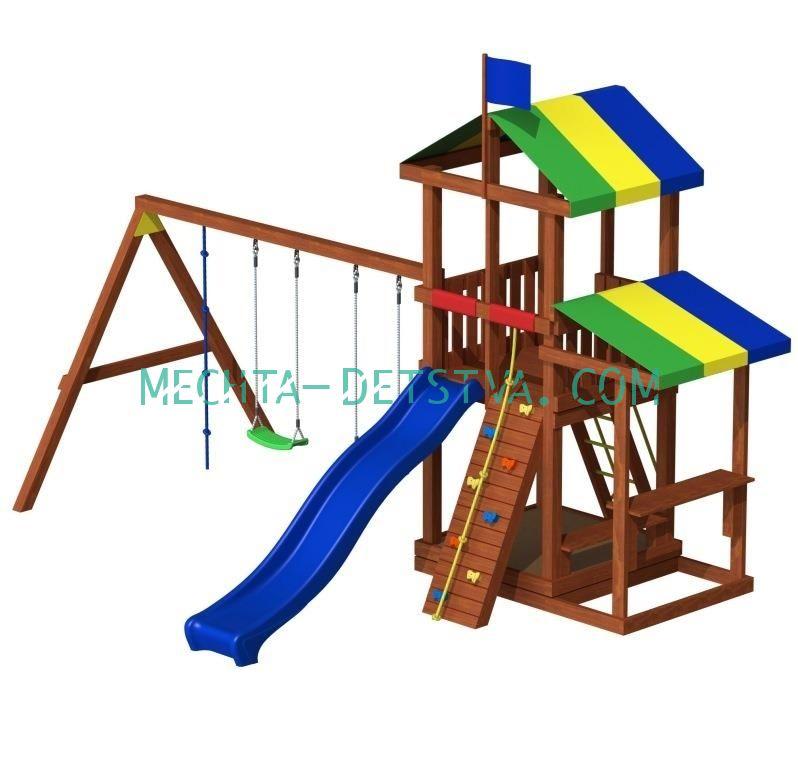 Детская площадка «Джунгли 8»
