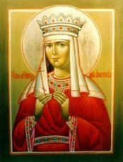 Анастасия Романова (рукописная икона)