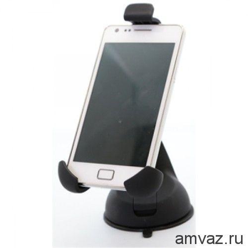 Держатель CARLINE®  для телефона/смартфона/навигатора на лобовое стекло на короткой штанге Y-type