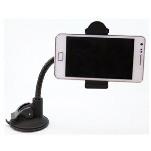 Держатель CARLINE® для телефона/смартфона/навигатора на лобовое стекло на длинной штанге раздвижной