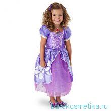 Платье принцессы Софии 5/6 лет