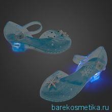Туфли принцессы Эльзы (светящиеся)