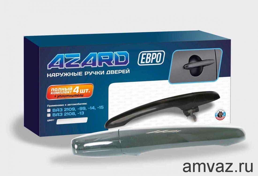 Ручки открывания двери ВАЗ 2109-99, 2113-15 ЕВРО /КВАРЦ/ /к-т 4 шт./