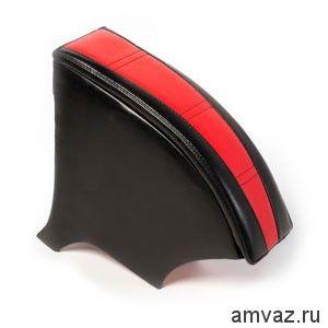 Подлокотник ВАЗ 2110-12 МЯГКИЙ /КРАСНЫЙ/