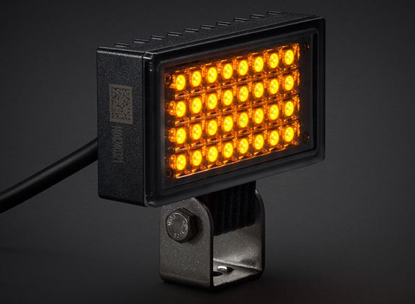 Cветодиодная фара заднего хода Prolight Color: XIL-UF32A янтарный свет
