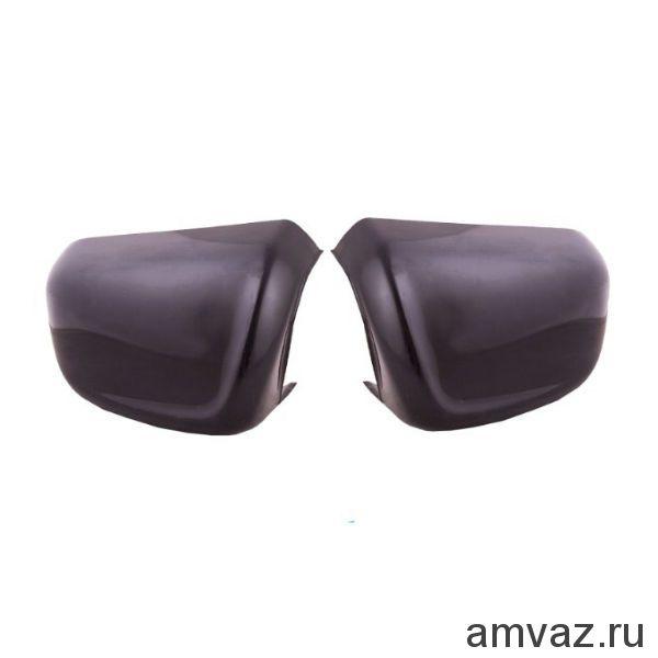 Накладки на штатные боковые зеркала ВАЗ 2108-99 /НЕКРАШ./ /к-т 2 шт./