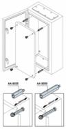 Стойка 25 мм для шкафов ABB серии SR (1упак. 12 шт.)