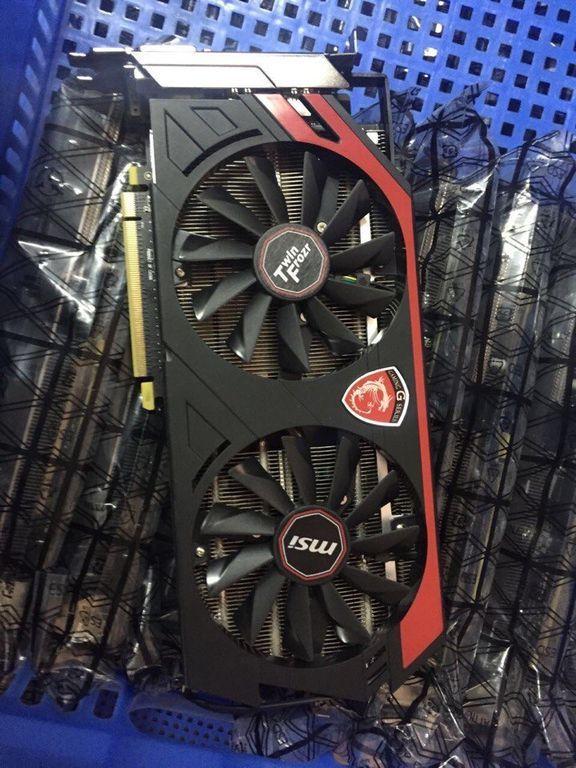 MSI Radeon R9 290 4Gb 27 MHs для майнинга Эфира (Ethereum)