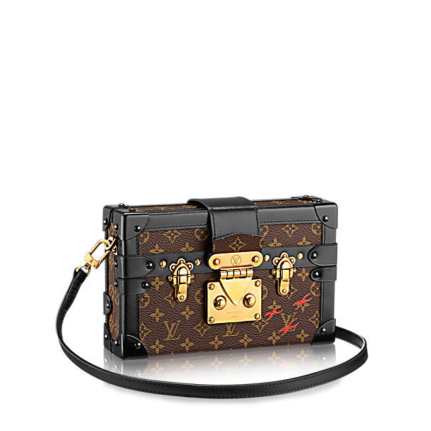 Сумка Petite Malle Monogram Louis Vuitton LV