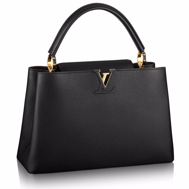 Сумка Louis Vuitton Capucines MM Black