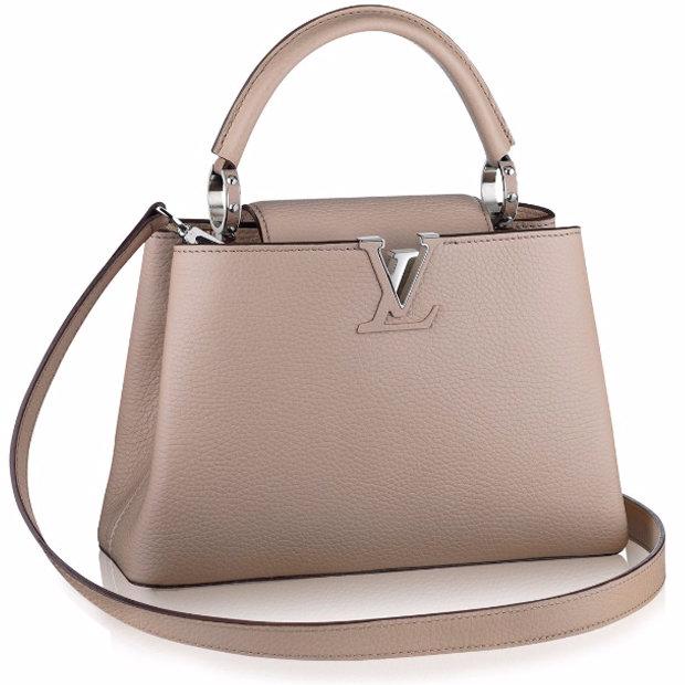 Cумка Louis Vuitton Capucines BB galet