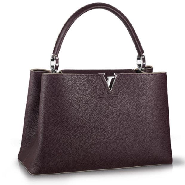 Сумка Louis Vuitton Capucines MM Quetsche