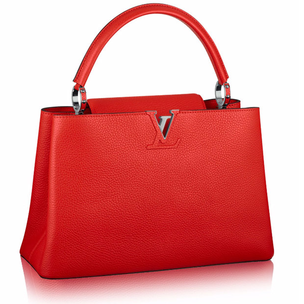 Сумка Louis Vuitton Capucines MM capucine