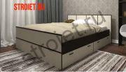Кровать весна 160см с ящиками