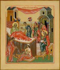 Икона Рождество Иоанна Предтечи