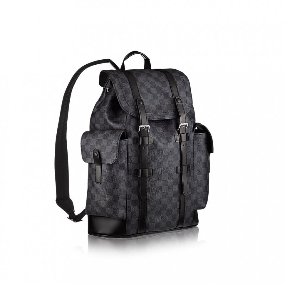 Рюкзак Louis Vuitton Christopher PM graphite