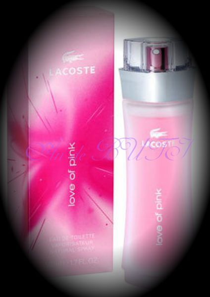 Lacoste Love Of Pink 90 ml edt