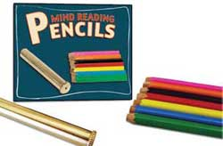 Предсказание цвета карандашей - Mind Reading Pencils