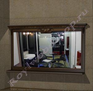 """Зеркало """"Челси-2 УОРВИК-150 орех"""""""
