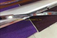Хромированная накладка на задний спойлер (тип 2) для Toyota Land Cruiser Prado 150