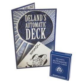 Фокусная колода The Automatic Deck Blue крапленые с коническим эффектом