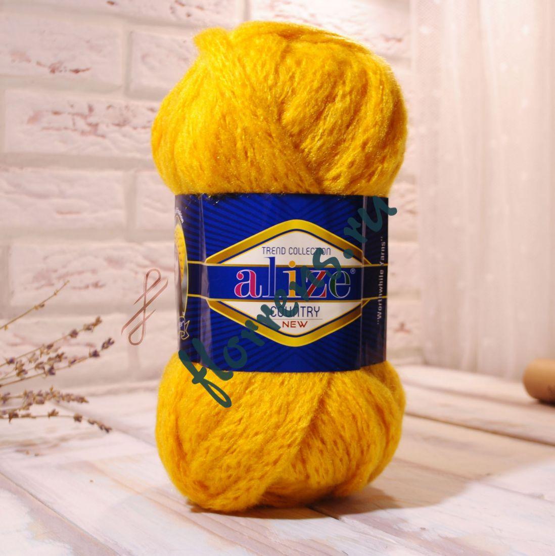 Пряжа Alize Country new / 488 желтый