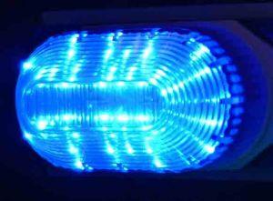 LED-строб накладной, синий