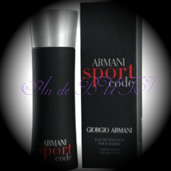 Giorgio Armani Armani Code Sport 75 ml edt