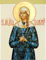 Дария Тимолина (рукописная икона)