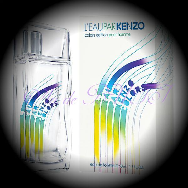 Kenzo L'eau par kenzo colors pour homme 100 ml edt