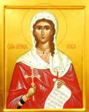 Икона Ника Коринфская (рукописная)