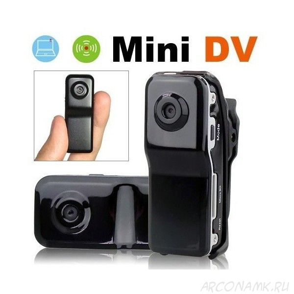 Мини видеокамера Mini Dv World Smallest Voice Recorder