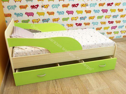 Кровать Максимка на щитах