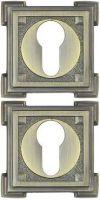 Накладка под цилиндр ET15M-матовая бронза