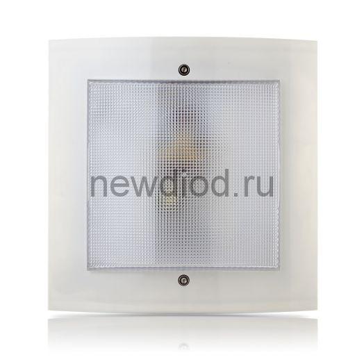 """Домовой светильник с дежурным режимом """"Интеллект-ЖКХ""""  9Вт серый"""